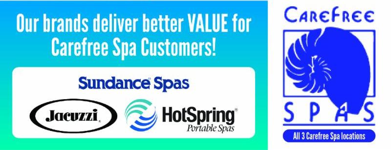 Carefree Spas 3 Brand Quality