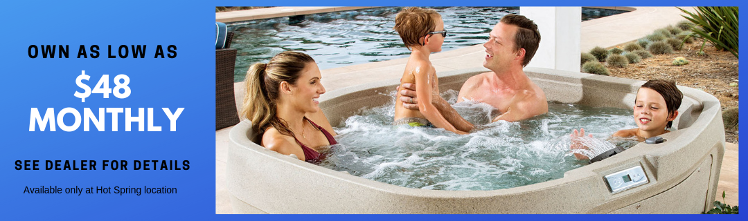 HotSpring FreeFlow Hot Tubs from Carefree Spas