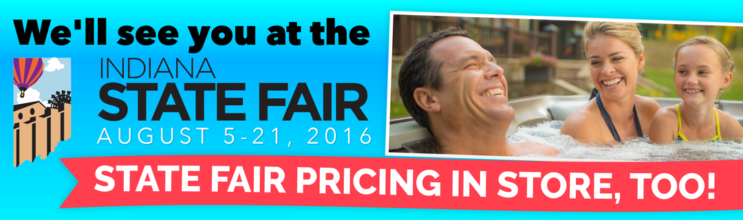 Carefree Spa Indiana State Fair Sales Pricing