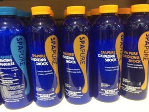 Hot Tub Shock Chemicals