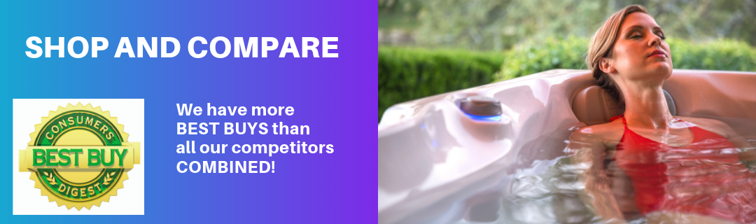 Carefree Spas has more Consumer Digest Best Buy Spas