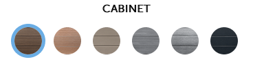 HotSpring Highlife Cabinet Colors